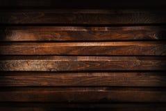 Mörkt trä för textur eller bakgrund royaltyfri foto