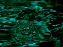 mörkt vatten Arkivbilder