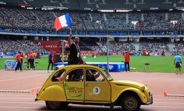 MÖTE AREVA, Paris IAAF Diamond League Arkivbild