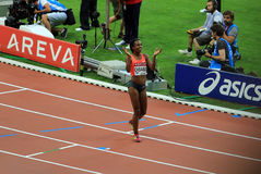 MÖTE AREVA, Paris IAAF Diamond League Royaltyfria Foton
