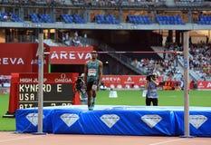 MÖTE AREVA, Paris IAAF Diamond League Arkivbilder