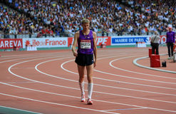 MÖTE AREVA, Paris IAAF Diamond League Royaltyfria Bilder