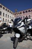 Möte av mopedägare av BMW K 1600 Royaltyfri Fotografi