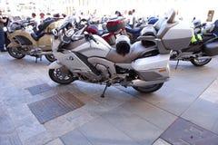 Möte av mopedägare av BMW K 1600 Arkivbilder