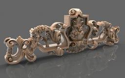 Möte av mystiska tider, inspiration, härliga illustrationer 3D vektor illustrationer