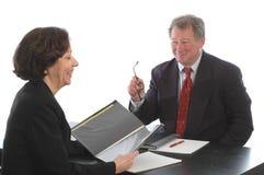 möte för affärsledare arkivbild