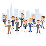 Möte för kontorsarbetare Royaltyfri Bild