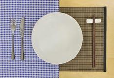 möter östlig fusion för matlagning västra arkivbilder