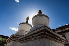 Mötesplats för tibetan buddism Arkivbilder