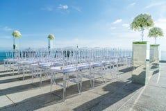Mötesplats Samui Thailand för strandbröllop Royaltyfria Foton