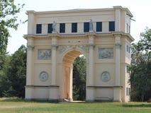 Mötesplats - tempel av Diana Arkivbild