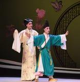 """Mötet var stoppad-Kunqu västra Chamber†för opera""""the  Royaltyfria Foton"""