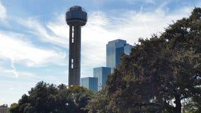 Mötetorn, Dallas Texas royaltyfria foton