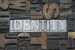 Mött identitet arkivfoto