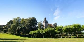 Mún castillo de Bentheim Fotos de archivo libres de regalías