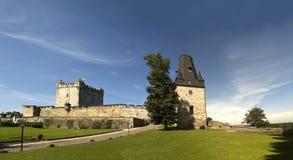 Mún castillo de Bentheim Imagen de archivo libre de regalías