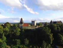 Mún castillo de Bentheim Foto de archivo