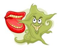 Mún olor de la boca Imagen de archivo libre de regalías