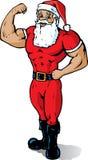Músculo Santa Fotografia de Stock Royalty Free