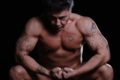 Músculos Foto de archivo libre de regalías