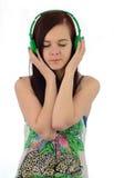 A música é meu mundo Foto de Stock Royalty Free