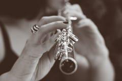 A música é a respiração do som da vida fotografia de stock royalty free