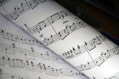 Música Imagens de Stock