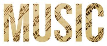 Música imagem de stock royalty free