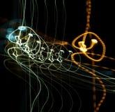 Música abstrata Fotografia de Stock