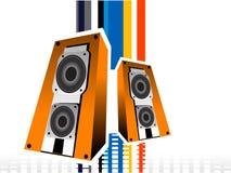 Música brilhante Imagem de Stock Royalty Free