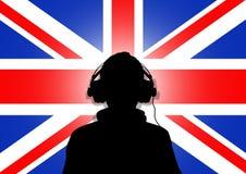 Música BRITÁNICA Fotografía de archivo libre de regalías
