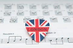 Música británica fotos de archivo libres de regalías