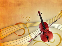 Música clásica stock de ilustración