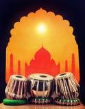 Música clássica indiana Fotografia de Stock Royalty Free