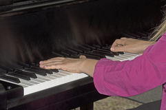 Música clássica que está vivo jogado Imagens de Stock Royalty Free