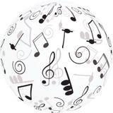 Música. Clef e notas de triplo para seu projeto. Imagem de Stock Royalty Free