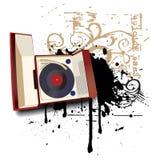 Música como a vida II ilustração stock
