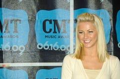 Música country y corvejón de Julianne de la estrella de televisión Foto de archivo libre de regalías