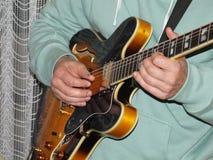 Música da guitarra Fotografia de Stock Royalty Free