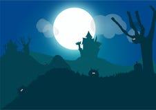 Música da noite ilustração stock