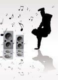Música de Breakdance Fotos de archivo libres de regalías