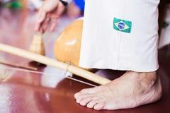 Música de Capoeira imagem de stock