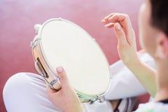Música de Capoeira foto de stock