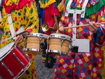Música de Cranival da samba de Rio Brasil Imagem de Stock Royalty Free