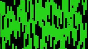 Música de dança alegre colorida animado dinâmica do movimento universal novo movente verde abstrato da qualidade do fundo do bloc ilustração royalty free