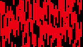 Música de dança alegre colorida animado dinâmica do movimento universal novo movente vermelho abstrato da qualidade do fundo do b ilustração stock