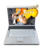 Música de Digitaces Imágenes de archivo libres de regalías