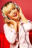 Música de escuta 2 Fotografia de Stock