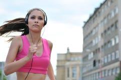Música de escuta do jovem Fotos de Stock Royalty Free