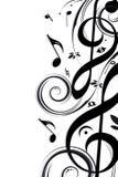 Música de fondo Fotografía de archivo libre de regalías
